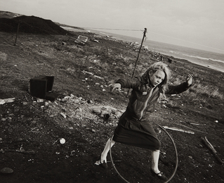 Chris Killip, 'Girl with Hoop,' 1989, Phillips: The Odyssey of Collecting