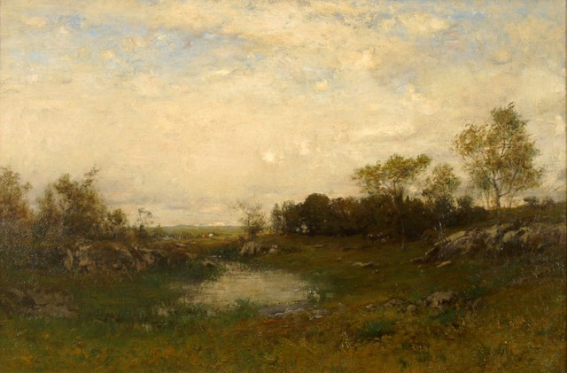 Alexander Helwig Wyant, 'Wayside Pool', ca. 1890, Private Collection, NY
