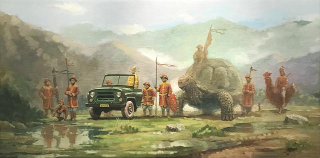 , 'The King Roaming,' 2016, Art Vietnam Gallery