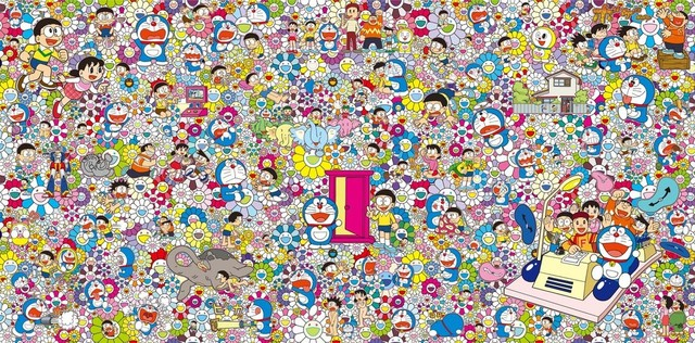 Takashi Murakami, 'Would It Be Nice If We Could Do Such a Thing', 2017, Curator Style