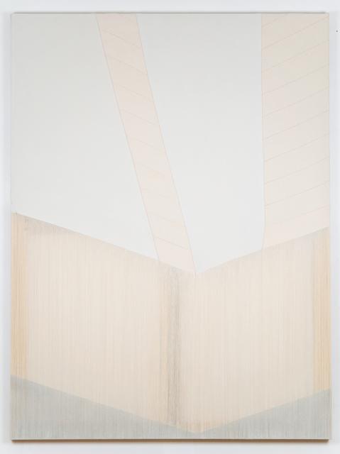 , 'ribbing,' 2017, Ronchini Gallery