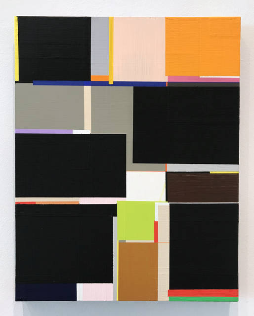 Richard Schur, 'Edge of Night (Study)', 2011, Painting, Acrylic on masonite, Minus Space