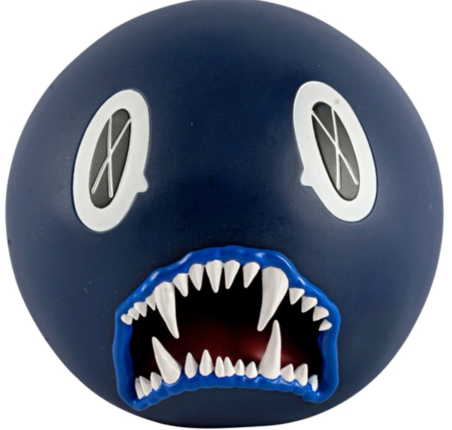 KAWS, 'Cat Teeth Bank (Navy Blue)', 2007, Alpha 137 Gallery Auction