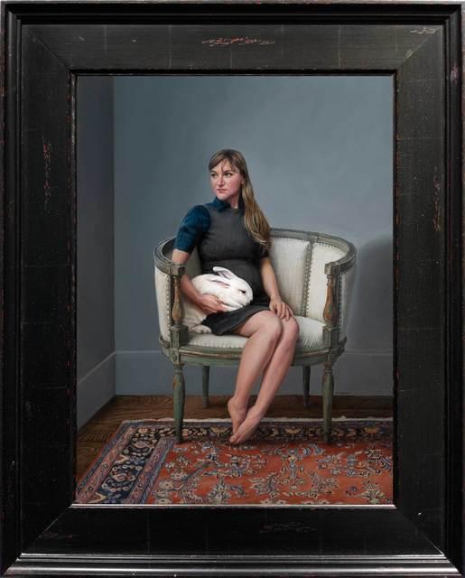 , 'Self Portrait - Expecting,' 2018, ARCADIA CONTEMPORARY