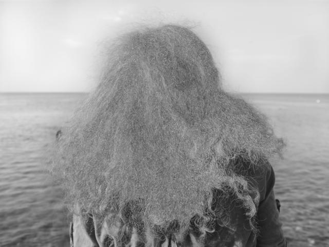 , 'Back of Lucia's head,' 2015, Galerie Krinzinger