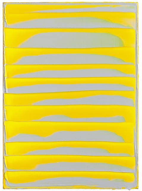 , 'GELBES BILD, B 060216,' 2016, Galerie Jochen Hempel