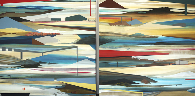 Julieta Aguinaco, 'Ancient Seabeds, New Horizons #3', 2016, Painting, Acrylic on canvas, CYDONIA