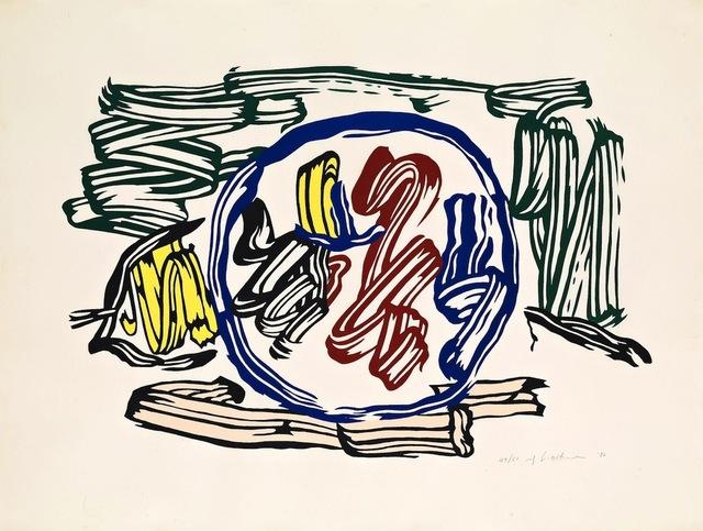 Roy Lichtenstein, 'Apple and Lemon', 1983, Gregg Shienbaum Fine Art