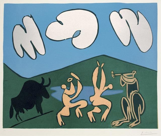 , 'Bacchanale au Taureau Noir,' 1959, R. S. Johnson Fine Art