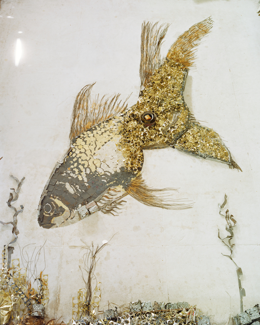 , 'Goldfish (Scrap Metal),' 2012, Matthew Liu Fine Arts