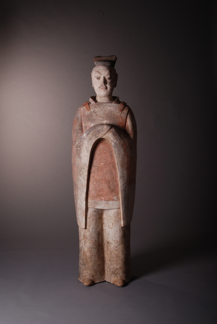 , 'Large Official,' China, Northern Qi period (549, 577AD), Vanderven Oriental Art