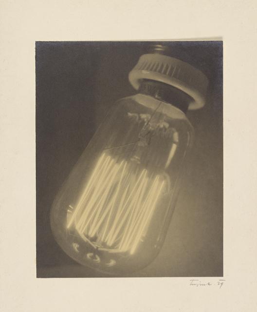 , 'Light Bulb,' 1929, J. Paul Getty Museum