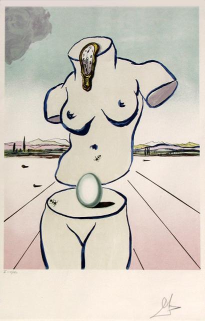 Salvador Dalí, 'Birth Of Venus ', 1979, Gregg Shienbaum Fine Art