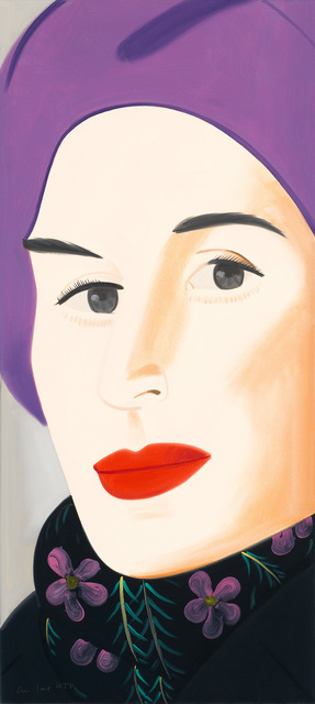 Alex Katz, 'Purple Hat', 2017, Meyerovich Gallery