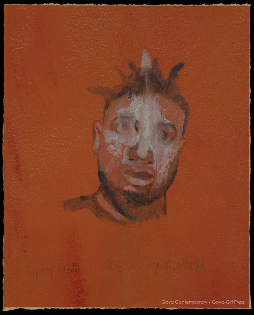 , 'Hip Hop Saints: ODB,' 2014, Goya Contemporary/Goya-Girl Press
