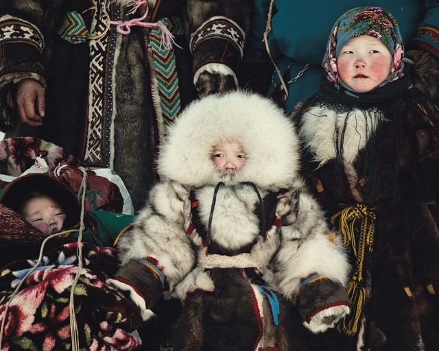 , 'XIII 479 Raisa, Brigade 2, Nenet, Yamal Peninsula, Ural Mountains Russia - Nenets, Russia,' 2011, Willas Contemporary