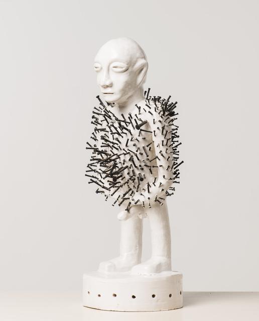 , 'Alàfo riri (Fétiche à clous),' 2015, Officine dell'Immagine