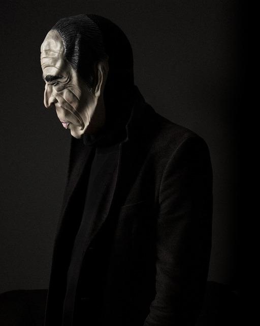 , 'Mitterand Mask,' 2012-2105, ILEX Gallery