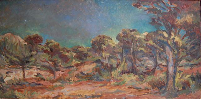 , 'Wild woodland, Provence,' ca. 1969, Robert Eagle Fine Art