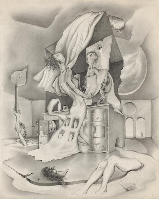 , 'Untitled [Interior with Woman Standing at a Dresser],' 1946, Francis M. Naumann Fine Art