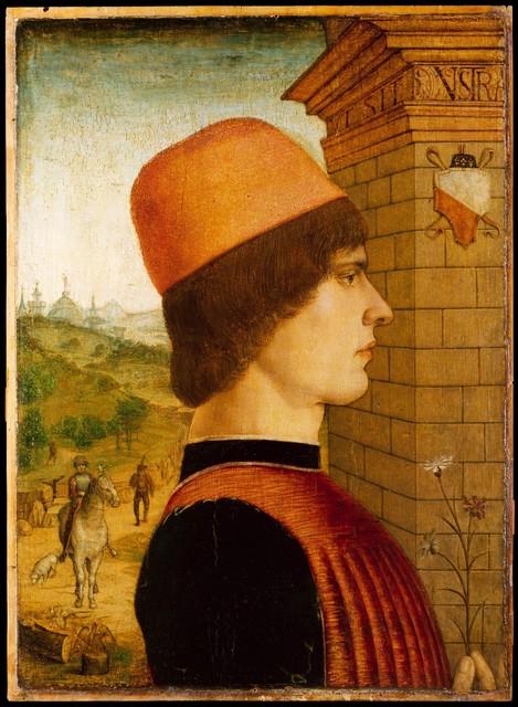 Attributed to the Maestro delle Storie del Pane, 'Portrait of a Man, possibly Matteo di Sebastiano di Bernardino Gozzadini', ca. 1494, The Metropolitan Museum of Art