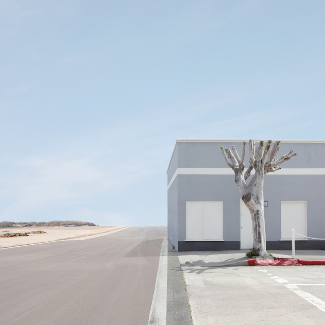 , 'Building and Tree,' 2010, Galerie Richard