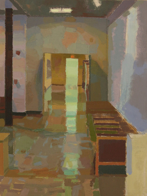 John Lee, 'Blue-Green Shadow', 2013, The Painting Center