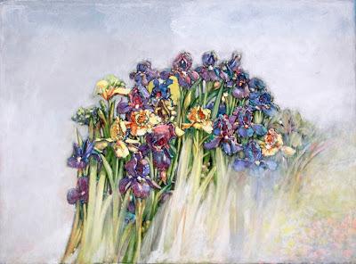 Morton Kaish, 'Wild Irises', 2018, Fritz Gallery