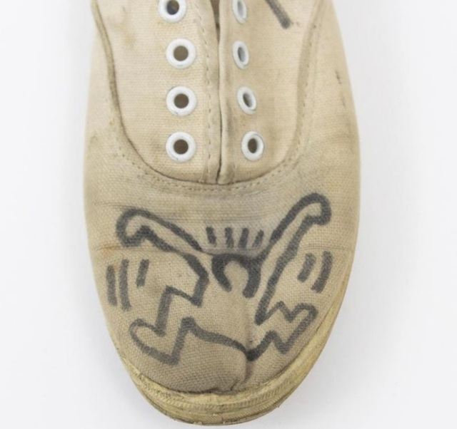 Keith Haring, 'Signed and Illustrated Plimsoles', ca. 1980, Rhodes