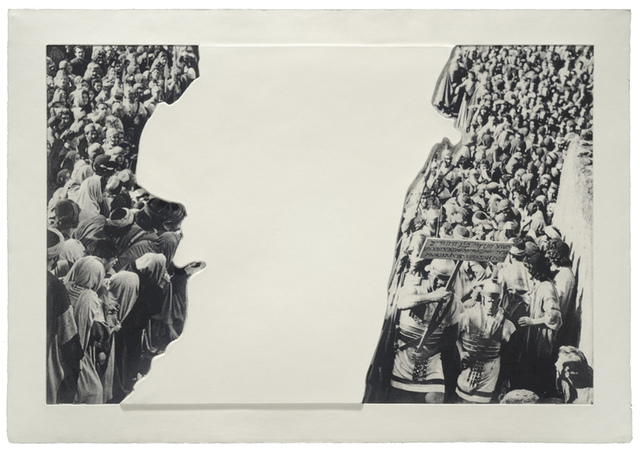 , 'Crowds with Shape of Reason Missing: Example 3,' 2012, Mixografia