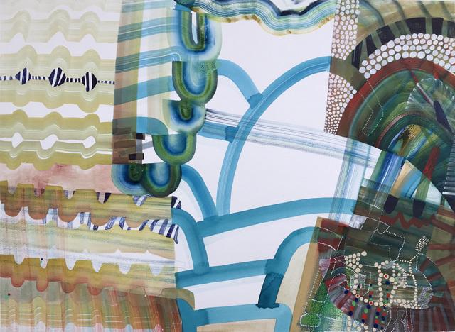, 'September Sea Through,' 2018, Kathryn Markel Fine Arts