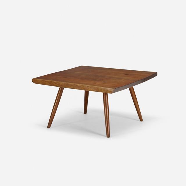 George Nakashima, 'coffee table', c. 1960, Rago/Wright