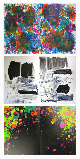 Sam Francis Joan Mitchell Walasse Ting 丁雄泉 Fresh Air School Exhibition Of Paintings Sam Francis Joan Mitchell Walasse Ting 1972 1973