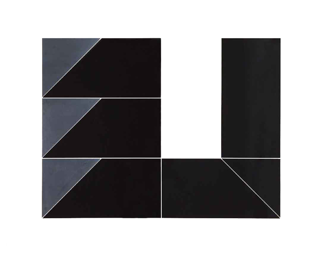, 'Black Room (triangles),' 2016, NM Contemporáneo