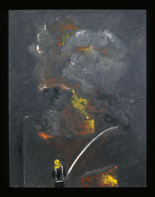 , 'The Morris Schiff Fire,' 1993, InLiquid
