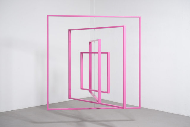 , 'Homage to the Square,' 2017, KÖNIG GALERIE