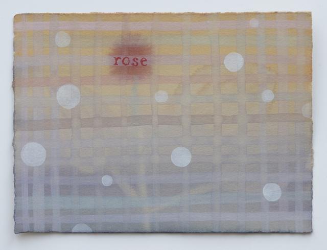 , 'Domestic Textiles Series, Rose,' 2019, frosch&portmann