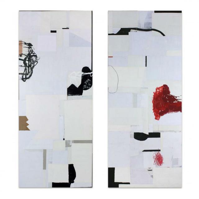 , 'WABI SABI 51 A & 51 (GROUPING),' , Exhibit by Aberson