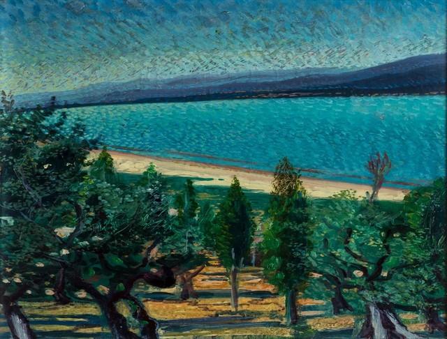 Gerardo Dottori, 'Landscape with lake', 1940, Finarte