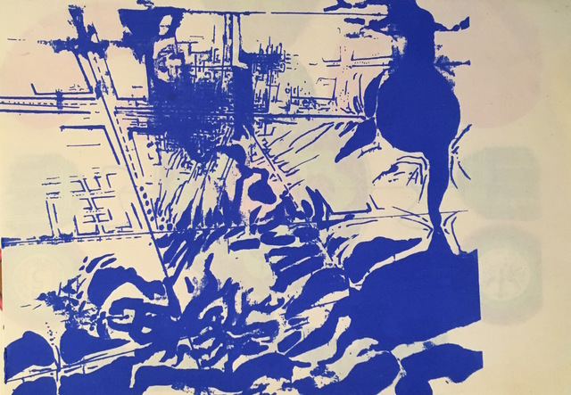 """, 'aus der Serie """"das komplexe Gedicht"""",' 1965, Galerie SOON"""
