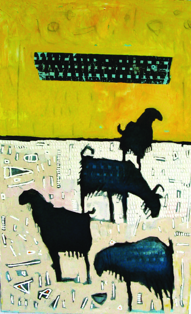 , 'Goats,' , West Branch Gallery