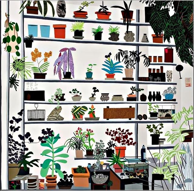 Jonas Wood, 'Large Shelf Still Life', 2017, Alpha 137 Gallery