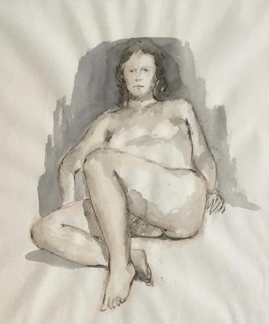 , 'Female Reclining,' Mid 20th c., Bakker Gallery