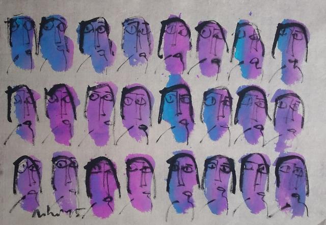, 'My Little Happiness 29_Purple,' 2015, Art Vietnam Gallery