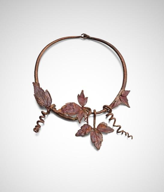 Claude Lalanne, 'Vine Leaf Choker ', 2014, Louisa Guinness Gallery