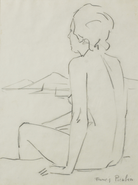 , 'Nue Assise,' 1941, Omer Tiroche Gallery