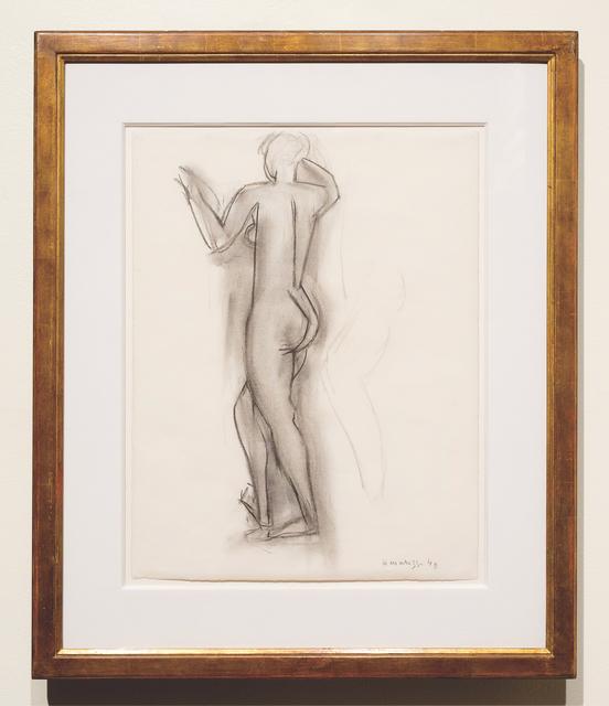 Henri Matisse, 'Nu Debout, drawing in Nice France', 1949, The Greenberg Gallery