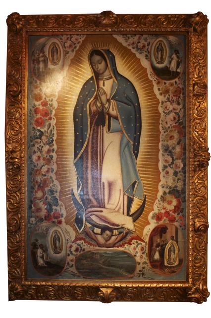 , 'Virgen de Guadalupe,' Siglo XVII, Mario Uvence