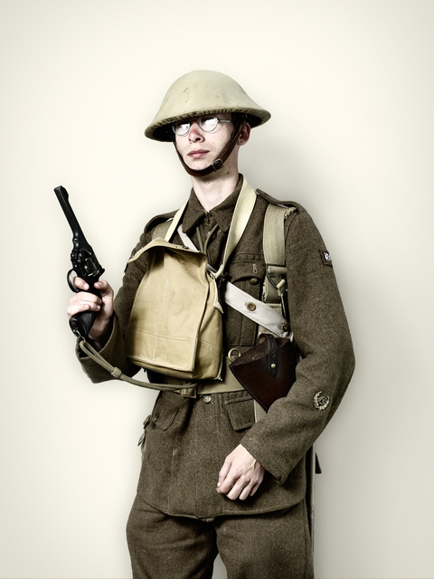 , 'British WW1 Soldier,' 2008, KLOMPCHING GALLERY