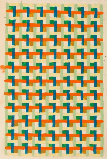 , 'Linear Weave Study,' 1979, Gallery Wendi Norris